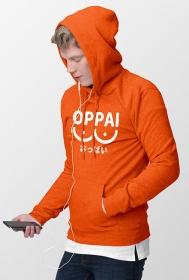 Bluza męska - Oppai (white)