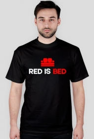 Red is Bed - Męski T-shirt