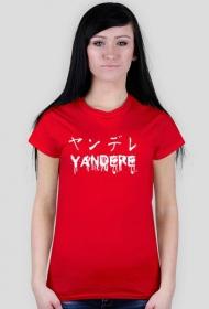 Koszulka damska - Yandere (ヤンデレ)