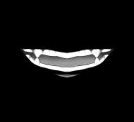 Kawaii maseczka - Zęby