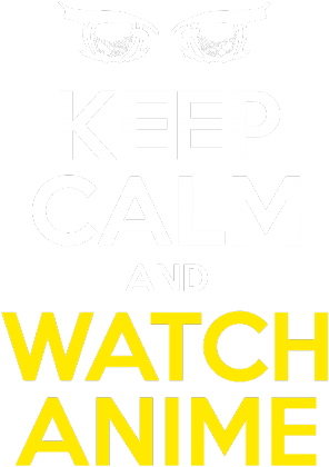 "Koszulka damska - ""Keep calm and watch anime"""