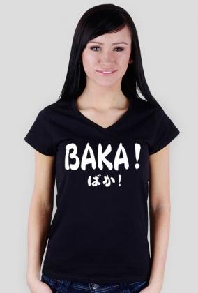 Koszulka damska - Baka! ばか!