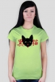 "Kawaii T-shirt - ""Kuro Neko"" (Black Cat)"