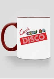 Gesek - bordowe uszko Czas na disco