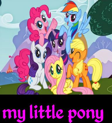 T-ishert my little pony