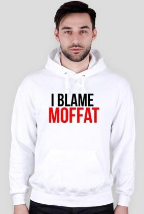 "Doctor Who bluza ""Blame Moffat"" biała"