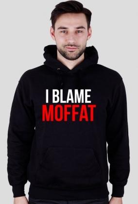 "Doctor Who bluza ""Blame Moffat"" czarna"