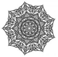 Poszewka na poduszkę (Mandala1)