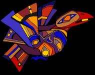 Bluza męska z kapturem (Ptak)