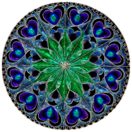 Poszewka na poduszkę (Mandala4)
