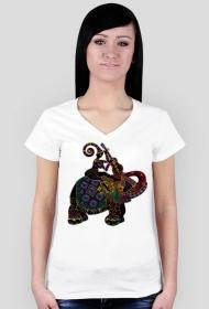Koszulka damska (Słoń2)