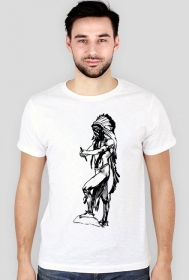 Koszulka męska (Indianin2)