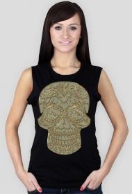 Koszulka damska bez rękawów (Czacha)