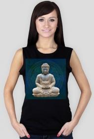 Koszulka damska bez rękawów (Budda)