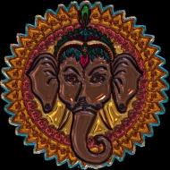 Koszulka damska (Mandala słoń)