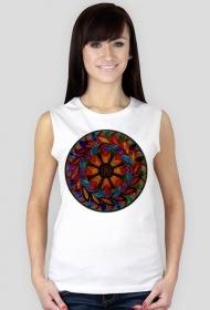 Koszulka damska bez rękawów (Mandala5)