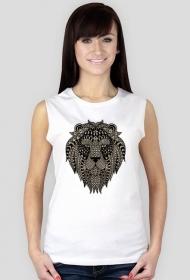 Koszulka damska bez rękawów (Lew)