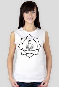 Koszulka damska bez rękawów (Budda2)