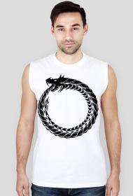 Koszulka męska bez rękawów (Smok5)