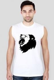 Koszulka męska bez rękawów (Lew5)