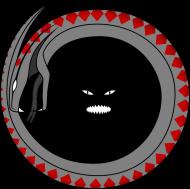 Koszulka męska bez rękawów (Wąż)