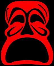 Koszulka męska (Maska2)