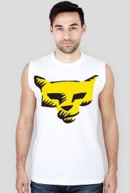 Koszulka męska bez rękawów (Kot)