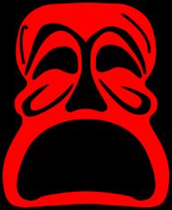Koszulka męska bez rękawów (Maska2)