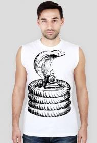 Koszulka męska bez rękawów (Budda2)