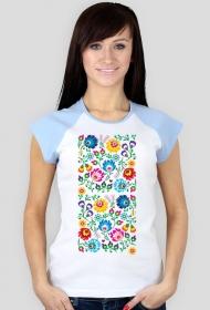 Koszulka damska (Kwiaty folk)