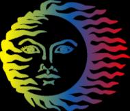 Koszulka damska na ramiączkach (Słońce)