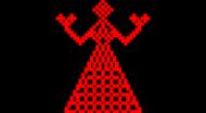 Koszulka damska na ramiączkach (Haft ludowy)