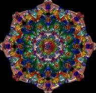 Podkładka pod myszkę (Mandala)