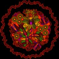 Podkładka pod myszkę (Mandala Kwiaty)