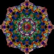 Koszulka damska (Mandala)
