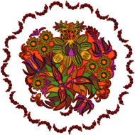 Koszulka damska (Mandala Kwiaty)