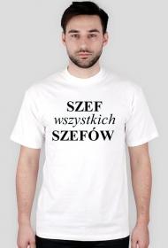 Koszulka męska (Szef wszystkich szefów)