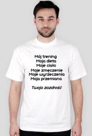 Koszulka męska (Mój trening...)