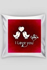 Poszewka na poduszkę (I love you)