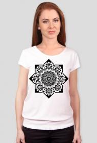 Koszulka damska (Mandala gwiazda)