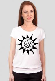 Koszulka damska (Wzór słowiański, pogański)
