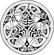 Bluza męska (Wzór celtycki)