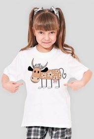 Koszulka dziecięca (Krówka)