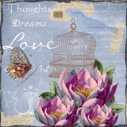 Torba bawełniana (Thoughts Dreams Love)