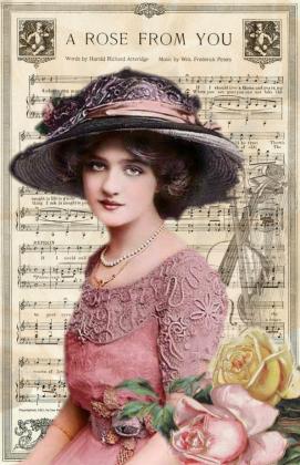 Torba bawełniana (Kobieta Vintage)
