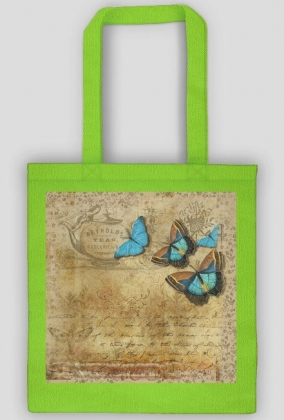 Torba bawełniana (Motyle Vintage)