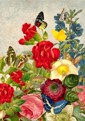 Torba bawełniana (Kwiaty)