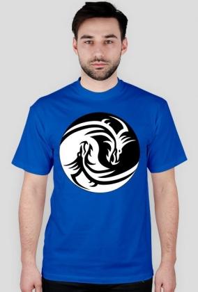 Koszulka męska (Smoki Yin Yang)