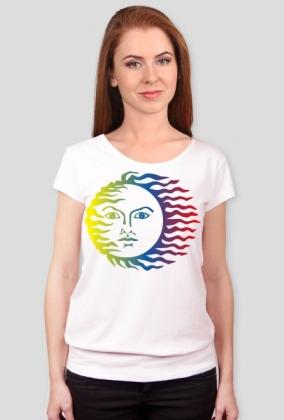 Koszulka damska (Słońce)