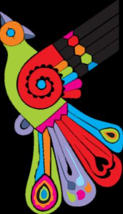 Koszulka damska na ramiączkach (Ptak Folk)